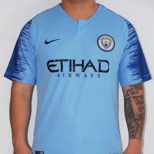 Manchester city home soccer #10 Aguero jersey